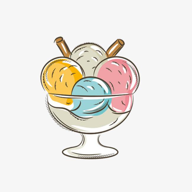 甜食甜品简笔画