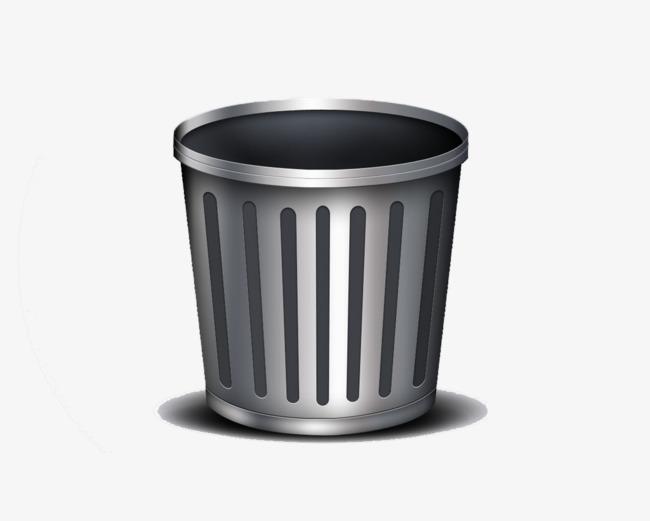 图片 > 【png】 银色的垃圾桶  分类:手绘动漫 类目:其他 格式:png