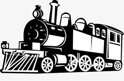 图片 > 【png】 黑白古代火车  分类:手绘动漫 类目:其他 格式:png
