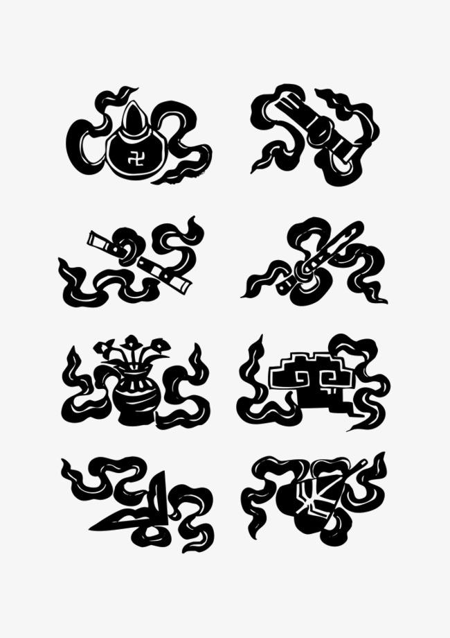 吉祥矢量藏族花纹素材图片免费下载 高清psd 千库网 图片编号6044377