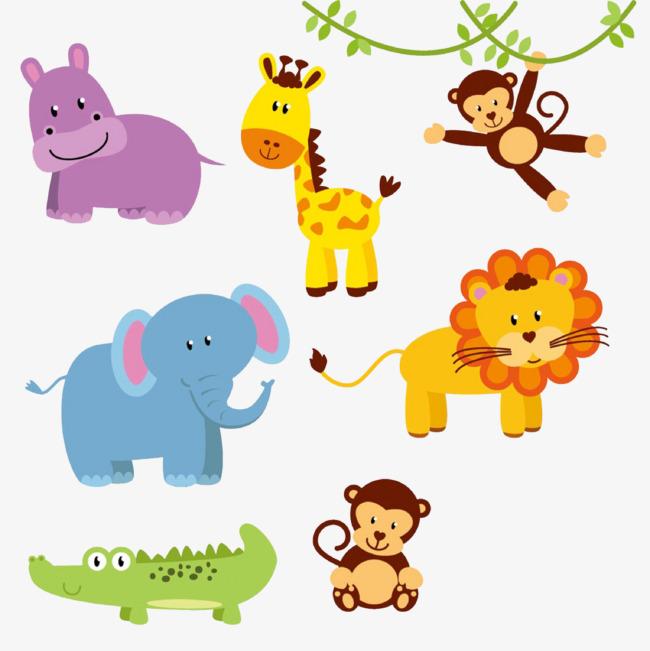 卡通小动物集合