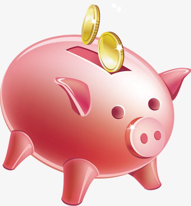 萌萌哒小猪存钱罐