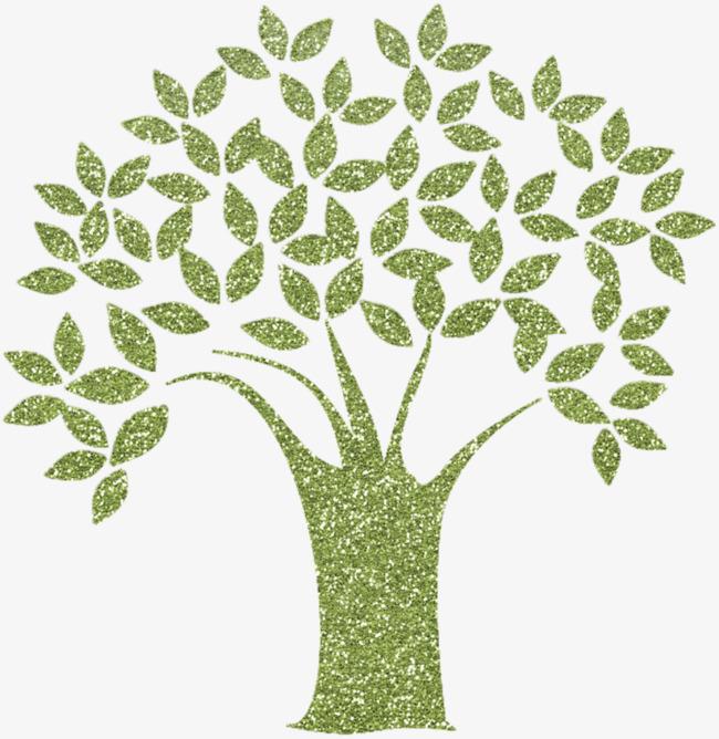 手绘创意树