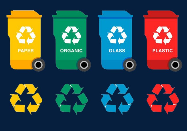 图片 > 【png】 垃圾桶收纳干净整洁  分类:字体设计 类目:其他 格式图片