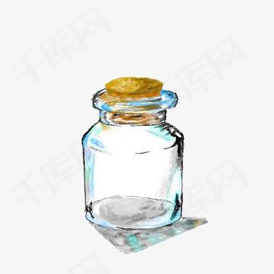 手绘许愿瓶免抠素材图片免费下载 高清卡通手绘png 千库网 图片编号