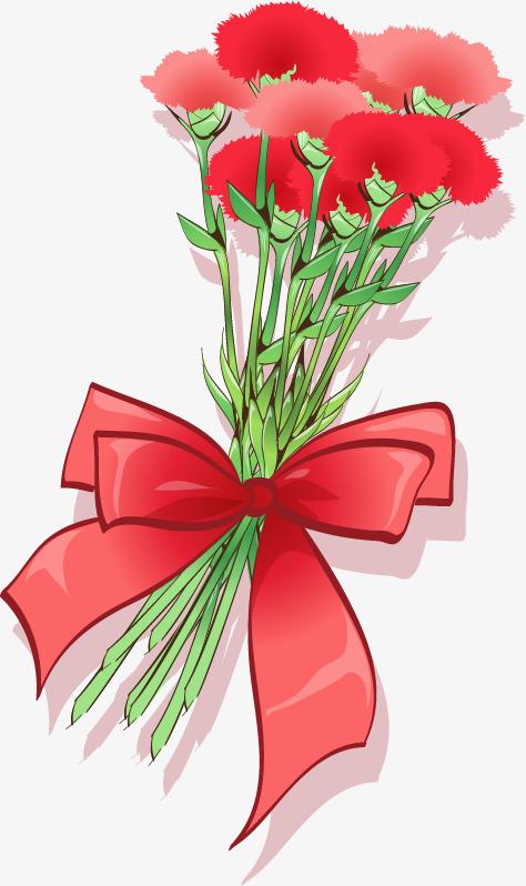 花朵康乃馨母亲节png矢量素材