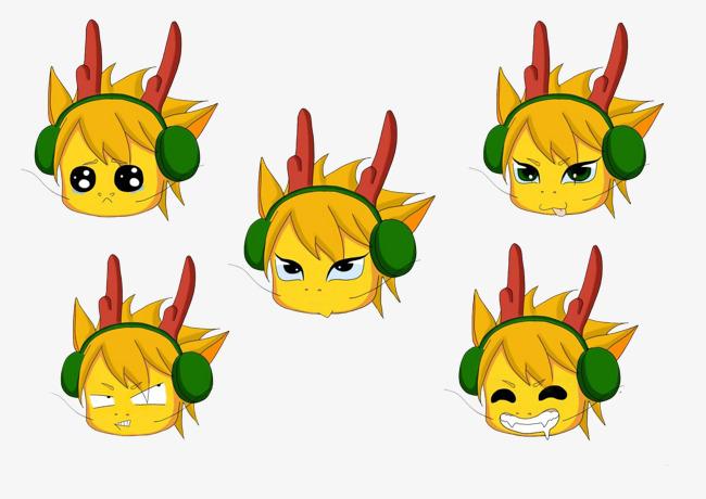 图片 > 【png】 可爱表情包  分类:手绘动漫 类目:其他 格式:png 体积