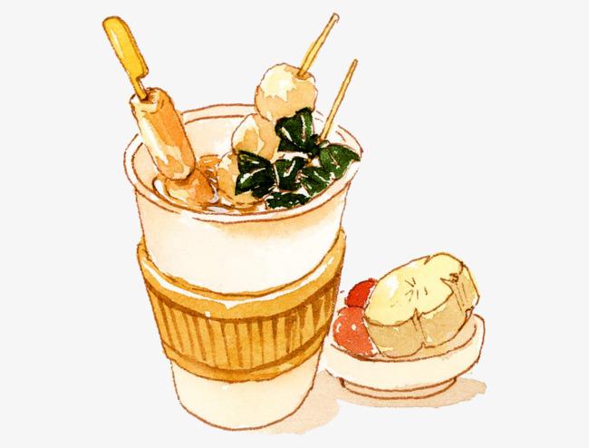 关东煮 美食 手绘 串串关东煮 美食 手绘 串串免扣素材 手机端:关东