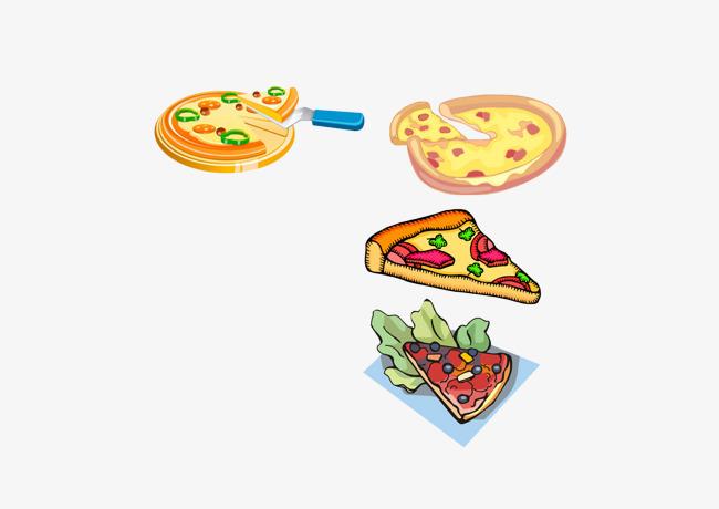 好吃的披萨图片
