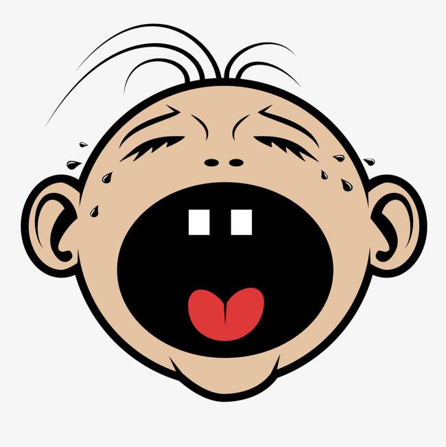 图片 > 【png】 大哭的孩子头像  分类:手绘动漫 类目:其他 格式:png