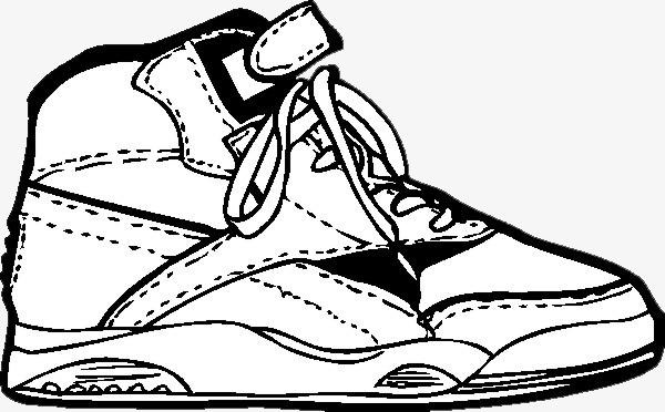 手绘鞋子素材图片免费下载 高清png 千库网 图片编号6074073