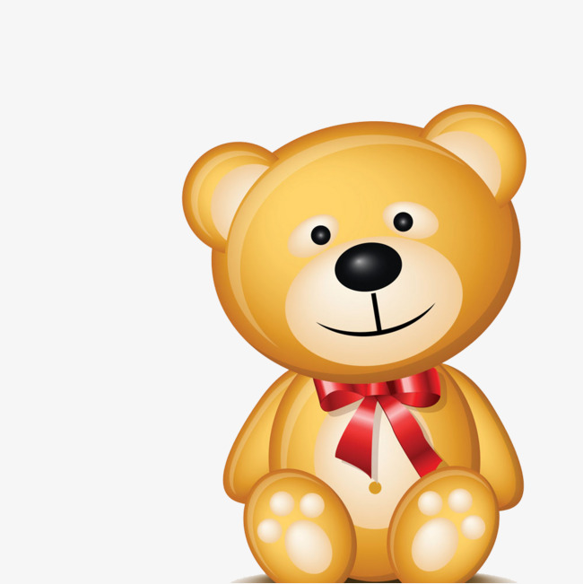 可爱小熊免抠图png素材-90设计