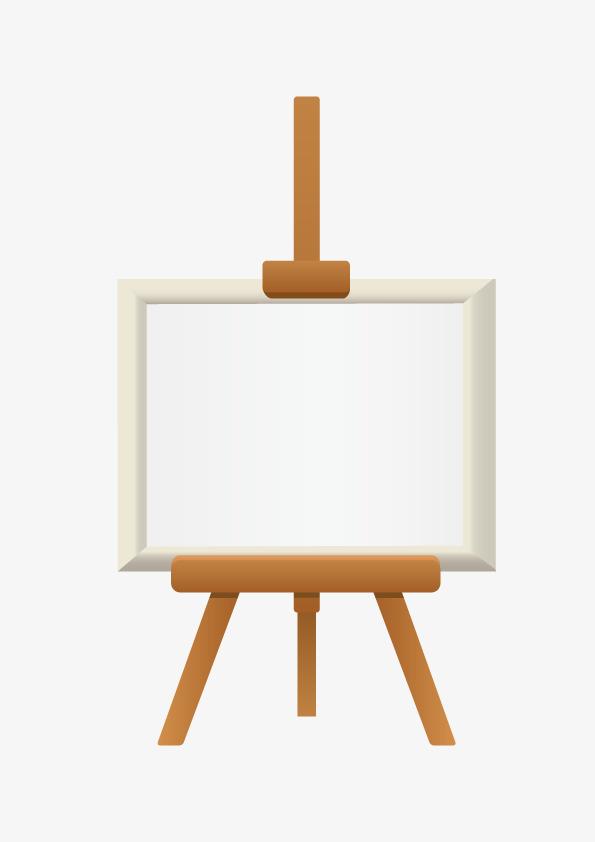 画具扁平化矢量图