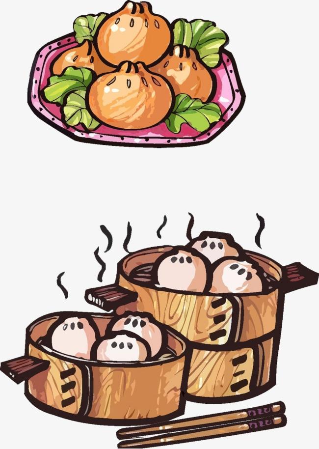 卡通手绘早餐素材图片免费下载 高清卡通手绘png 千库网 图片编号6173376