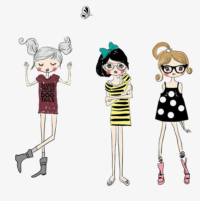 图片 > 【png】 非主流女孩  分类:手绘动漫 类目:其他 格式:png 体积