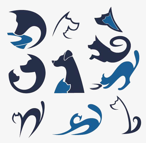 Dog And Cat Symbol