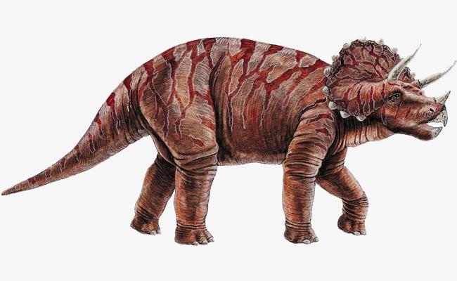 白垩纪恐龙png素材-90设计