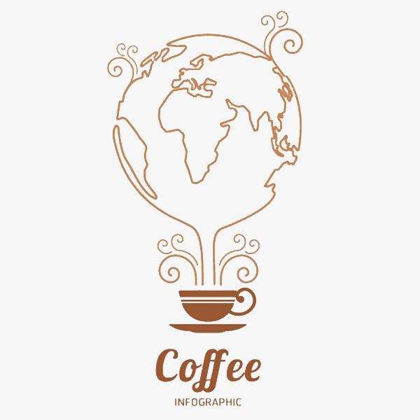 创意手绘线条咖啡杯咖啡杯创意咖啡广告手绘线条地球咖啡广告杯创意设计广告杯设计素材广告杯免抠素材广告杯png图片广告杯免抠png素材