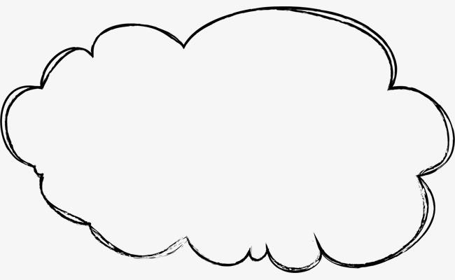 卡通手绘云朵