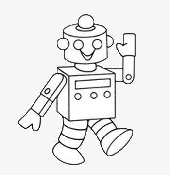 免扣素材之机器人