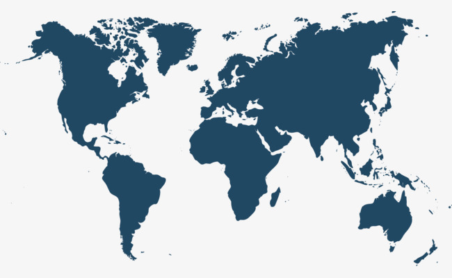 矢量世界地图素材世界地图PPT元素全球商务矢量素材-矢量世界地图