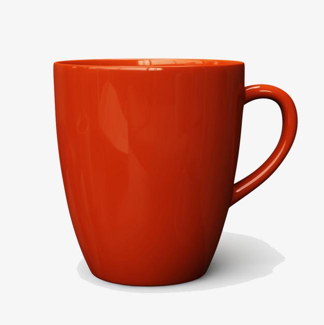 红色杯子素材免抠图