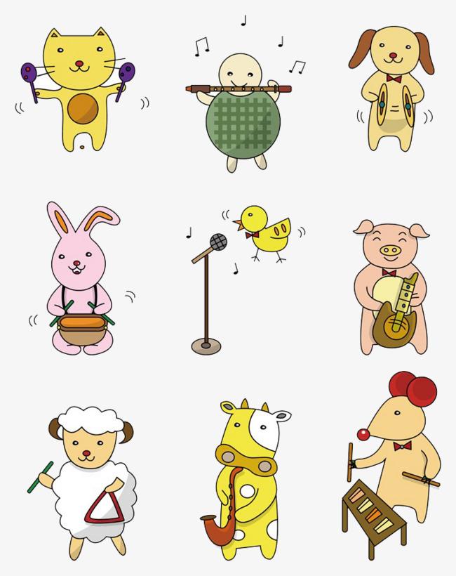 唱歌跳舞的小动物