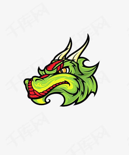 手绘中国风龙头素材图片免费下载 高清装饰图案png 千库网 图片编号6265138