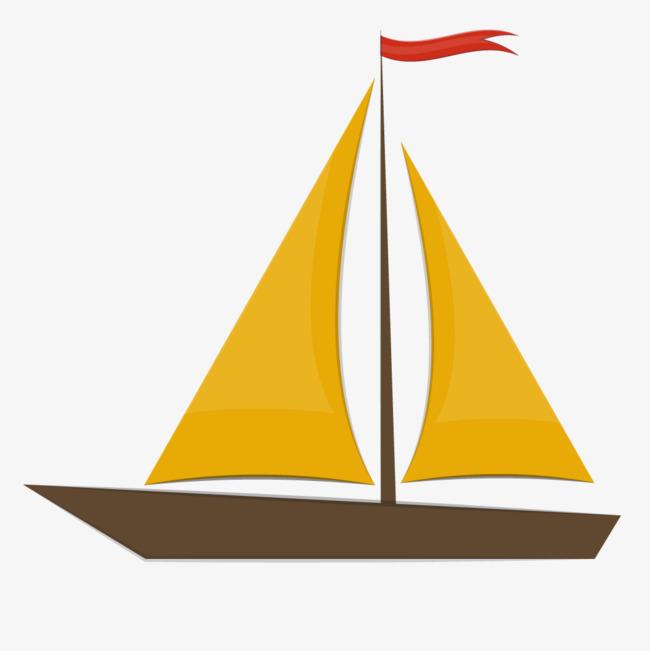 卡通帆船矢量图素材图片免费下载 高清效果元素psd 千库网 图片编号图片
