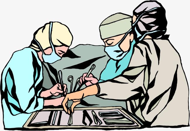 卡通医生手术素材图片图片