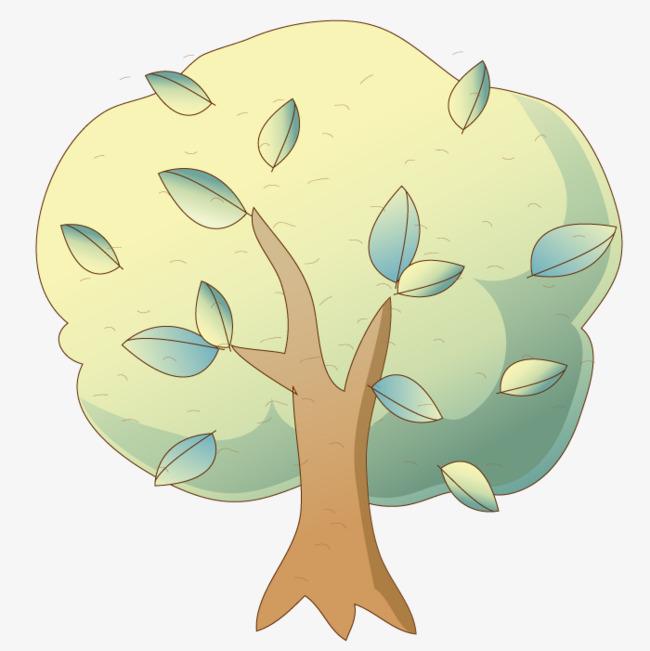 700*700 90设计提供高清png手绘动漫素材免费下载,本次卡通大树作品为