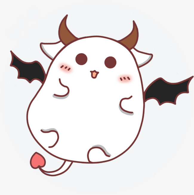 可爱手绘小恶魔