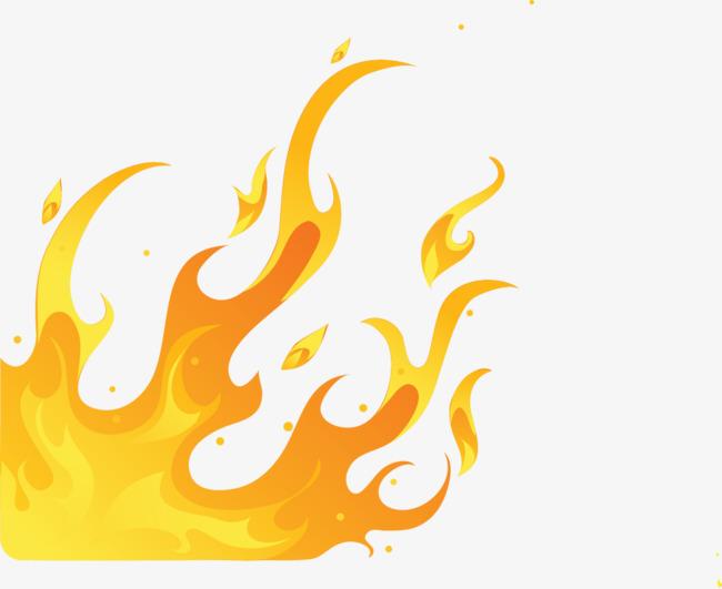 图片 > 【png】 矢量手绘金色火焰  分类:效果元素 类目:其他 格式
