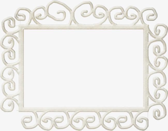 四方形雕刻边框