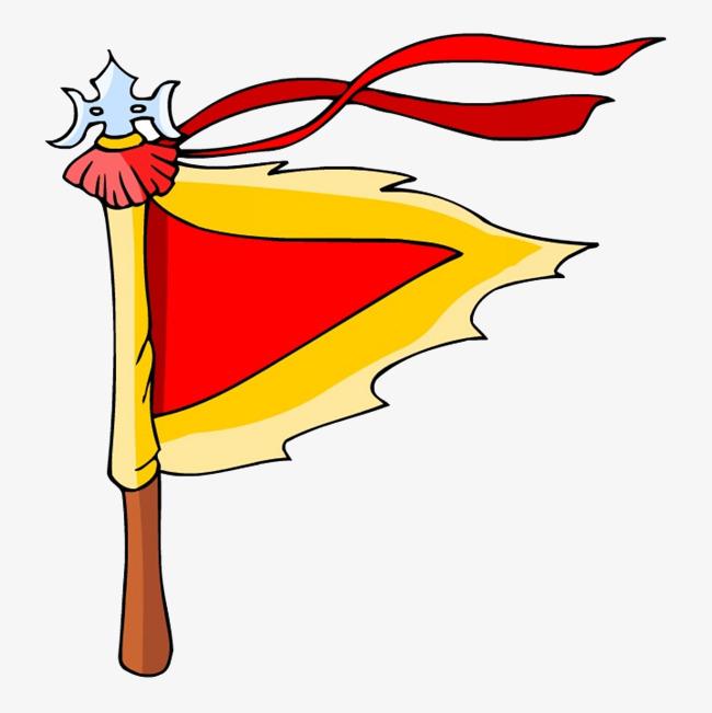 古代酒馆手绘旗帜