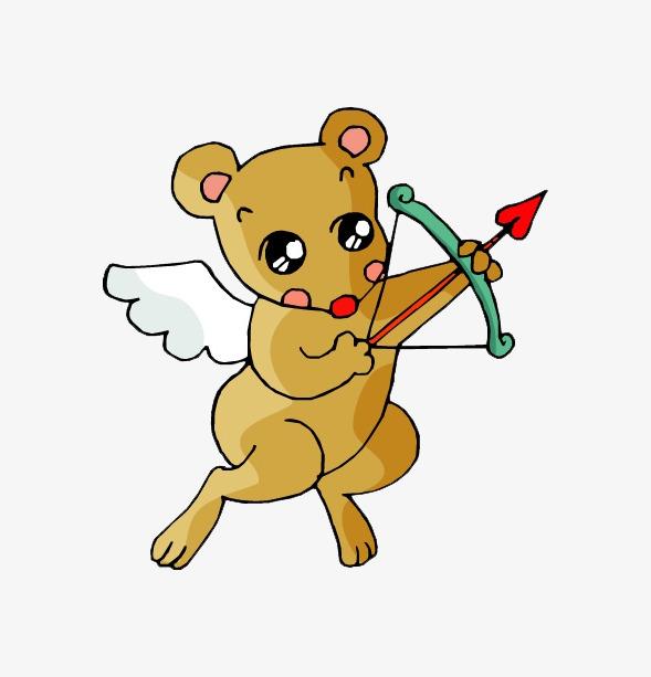 射箭老鼠天使图片