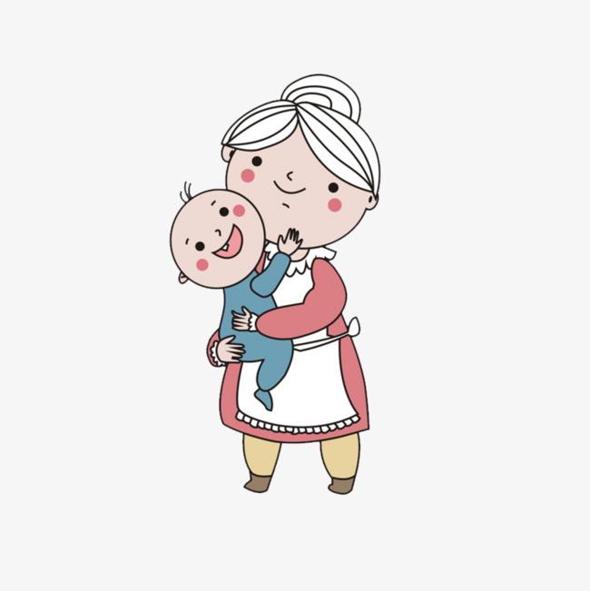 图片 > 【png】 卡通老奶奶  分类:手绘动漫 类目:其他 格式:png 体积