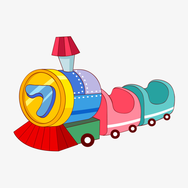 图片 > 【png】 小火车素材  分类:手绘动漫 类目:其他 格式:png 体积