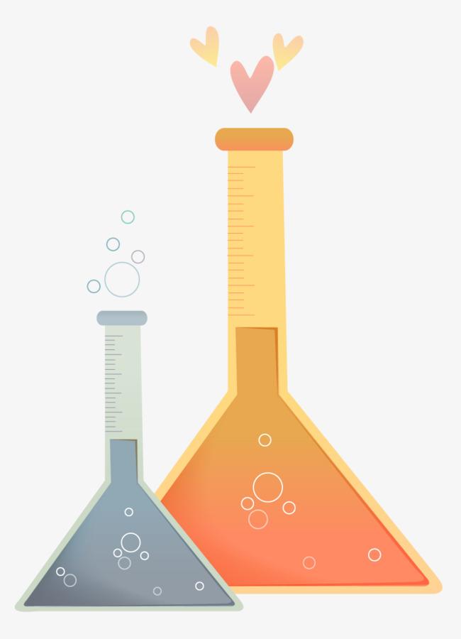 卡通化学试剂瓶图片