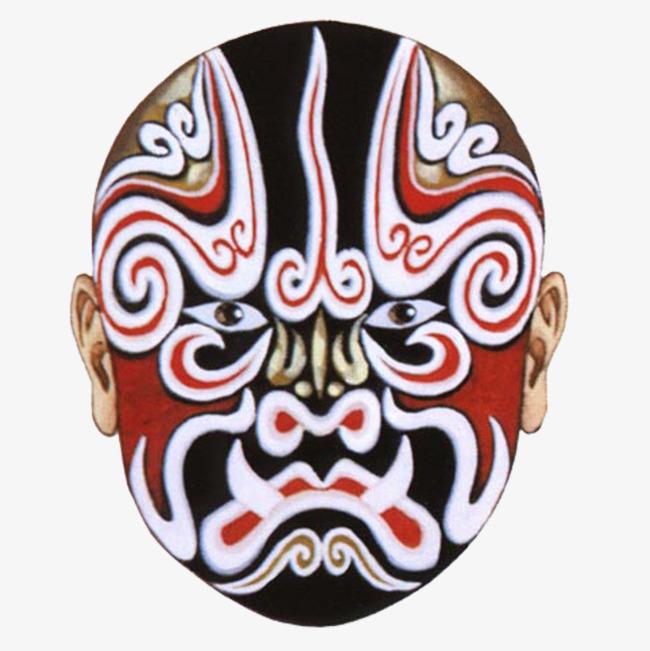 京剧角色脸谱图片