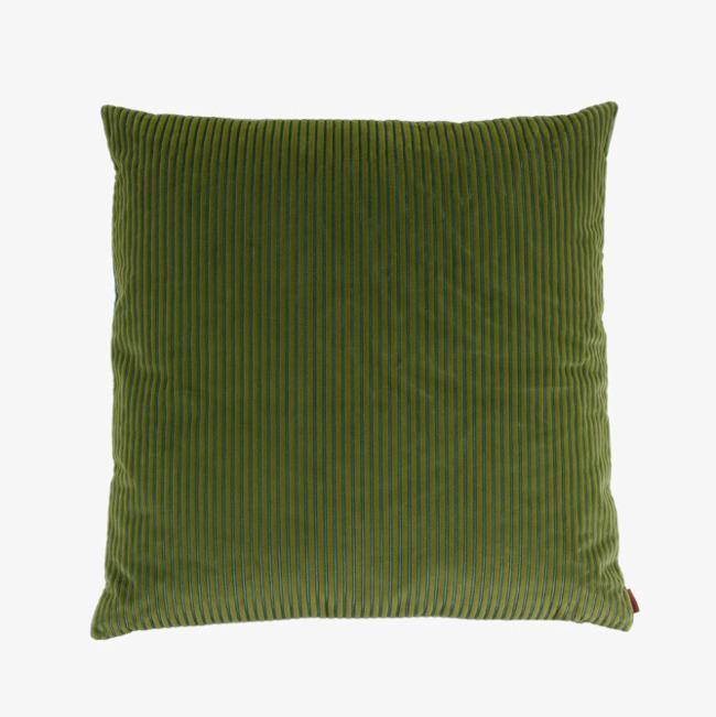 正方形绿色布艺抱枕