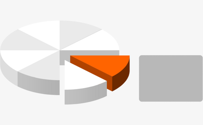ppt圆饼图表png素材-90设计