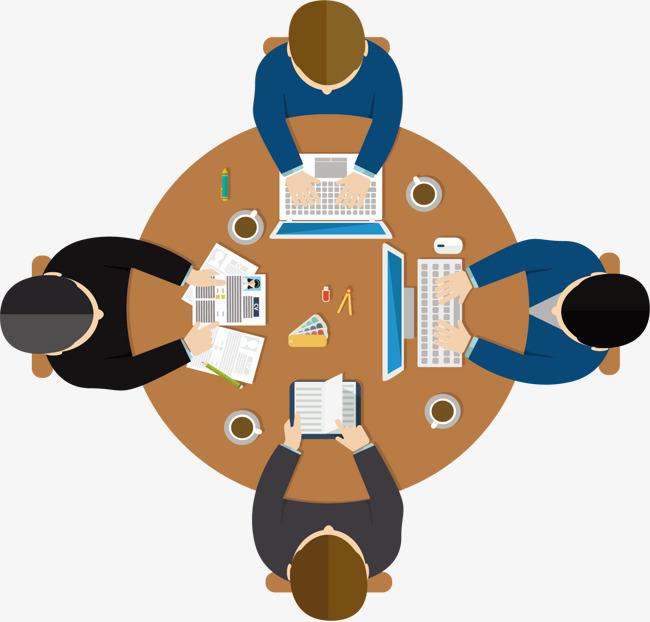 高层领导商务讨论会素材图片免费下载_高清装饰图案