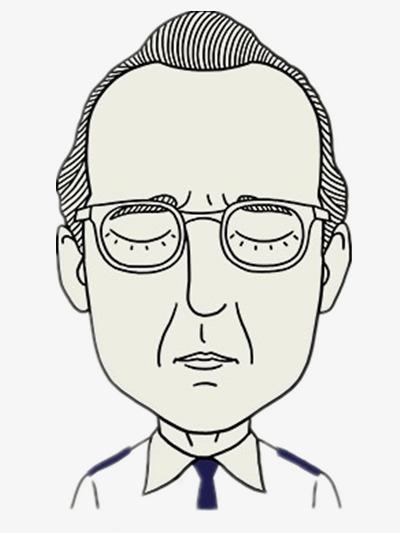 戴眼镜的大叔
