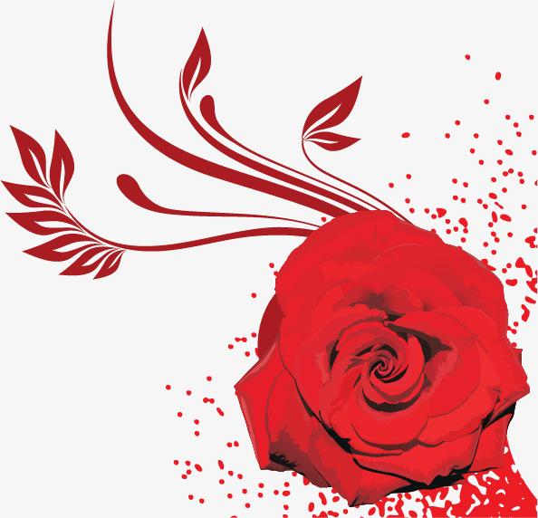 创意玫瑰花图片