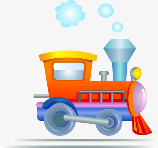 卡通火车头