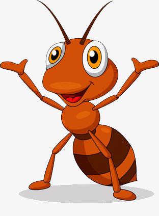 图片 > 【png】 举手欢呼的卡通蚂蚁  分类:手绘动漫 类目:其他 格式图片