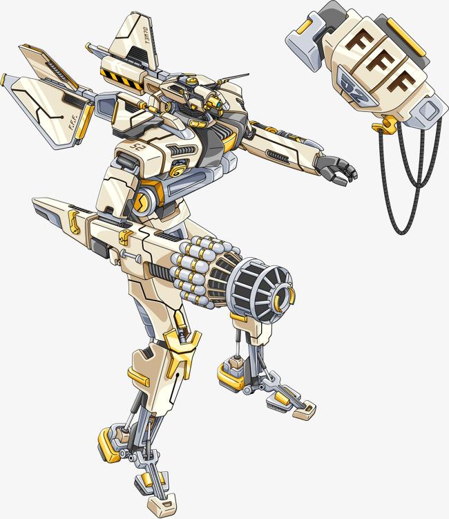 矢量手绘智能机器人素材图片免费下载 高清装饰图案psd 千库网 图片