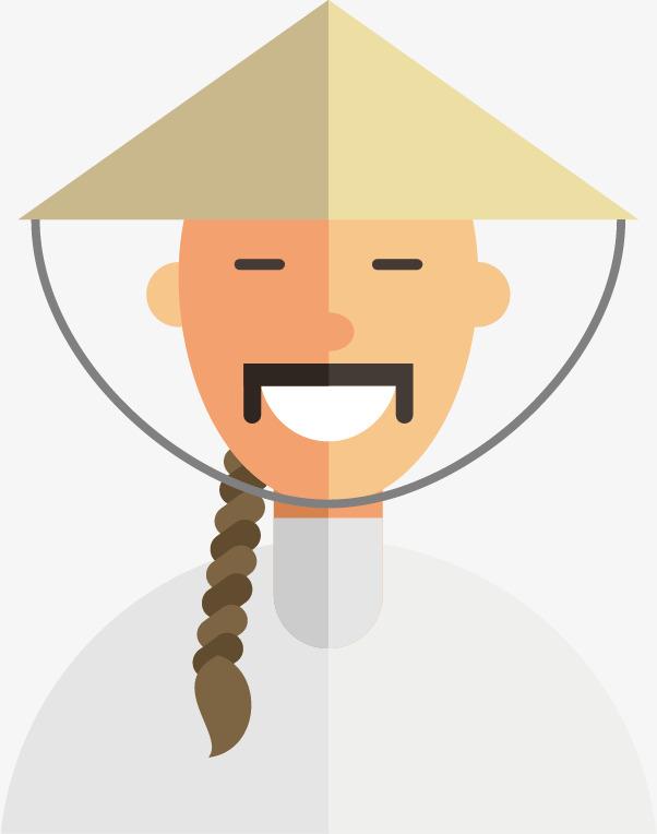 卡通农民图片