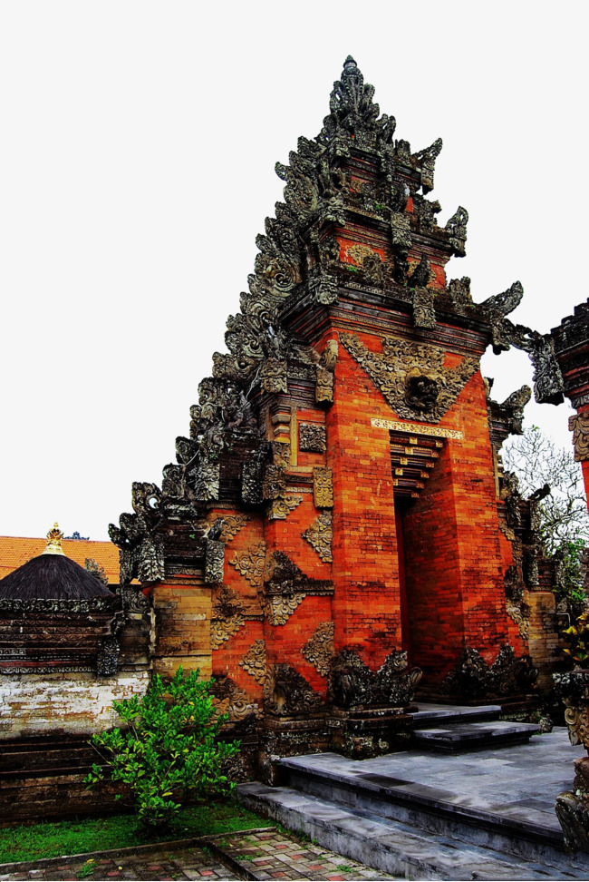 巴厘岛之海神庙古建筑